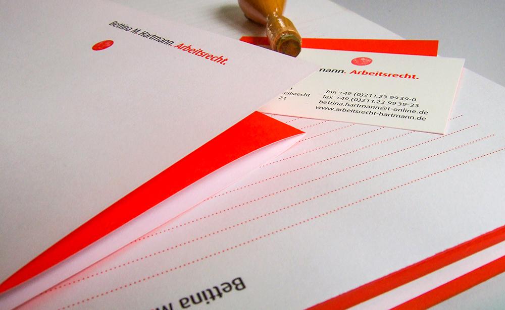 arbeitsrecht stationary branding 2