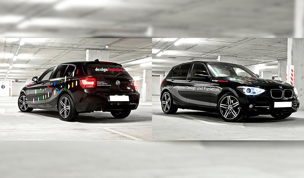 designfunktion branding car