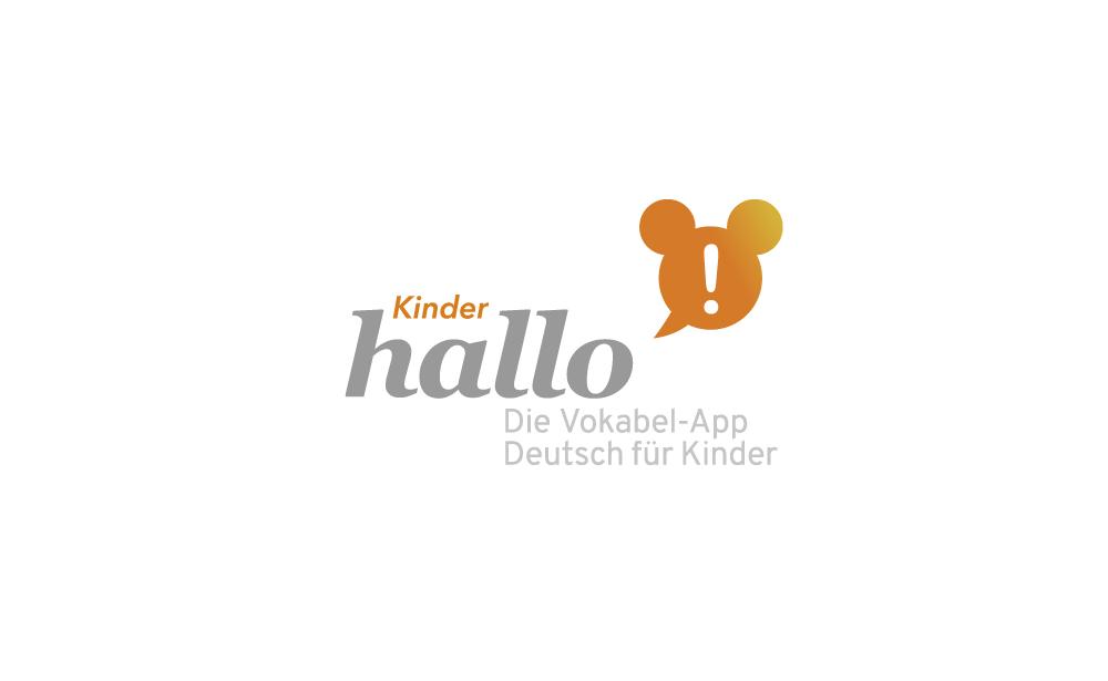 logoentwicklung vokabel-app für kinder