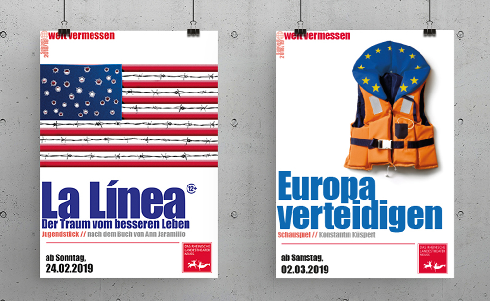 Theater RLT Plakate 2019