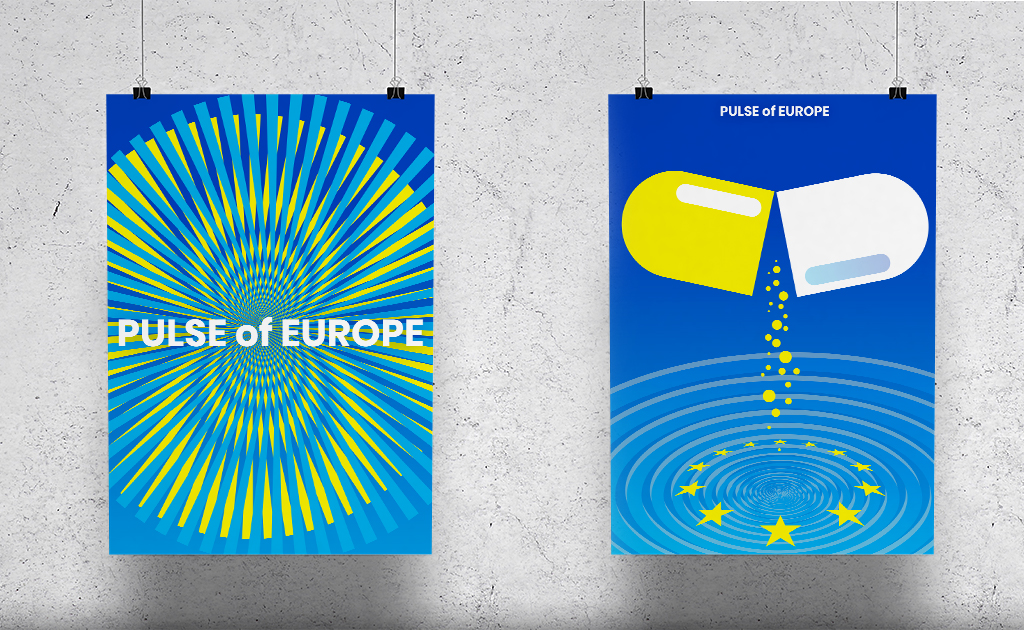 Europa pulse of Europe Plakate Impulse