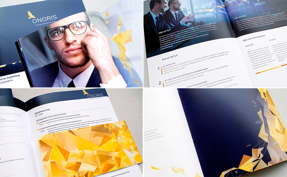onoris identity print collateral