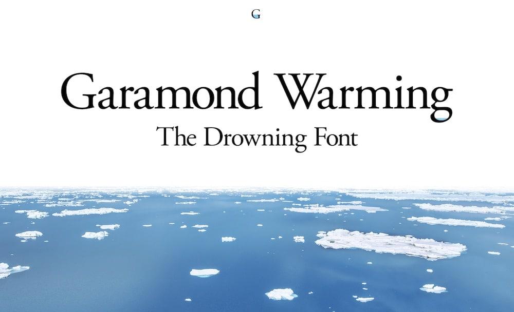 Garamond_Warming Font